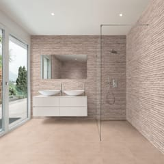 Rock Face :  Bathroom by The Baked Tile Company