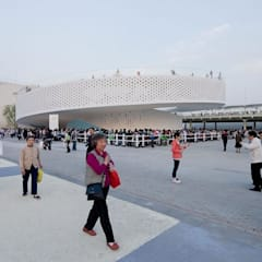 EXPO 2010 DANISH PAVILION:  Exhibition centres by BIG-BJARKE INGELS GROUP