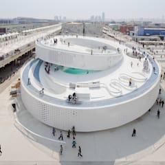 Exhibition centres by BIG-BJARKE INGELS GROUP