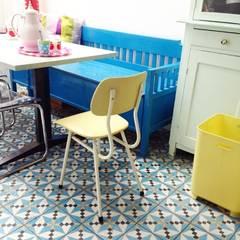 Voorbeelden:  Keuken door Retroloekie
