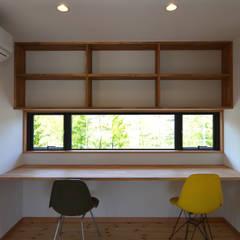 اتاق کار و درس by TEKTON | テクトン建築設計事務所