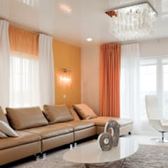 Living room by Center of interior design, Eclectic