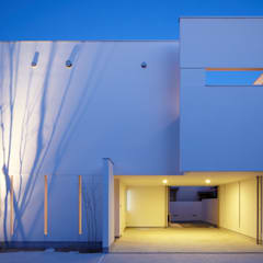 Houses by MITSUTOSHI   OKAMOTO   ARCHITECT   OFFICE 岡本光利一級建築士事務所