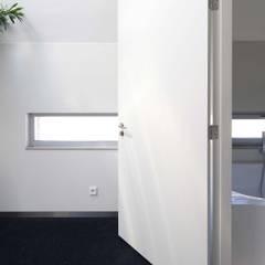RielEstate: minimalistische Badkamer door Joris Verhoeven Architectuur