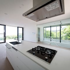Built-in kitchens by ラブデザインホームズ/LOVE DESIGN HOMES