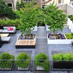 Daktuin Dordrecht: moderne Tuin door ERIK VAN GELDER   Devoted to Garden Design