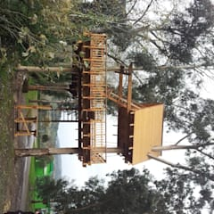 Casallai2: Giardino in stile  di Abitalbero