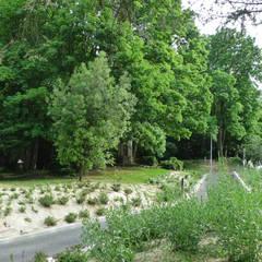 parc de la maison de la rencontre à Ecully (69): Musées de style  par ATELIER DU BOCAL paysagistes