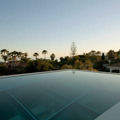 Jellyfish House:  Zwembad door Wiel Arets Architects