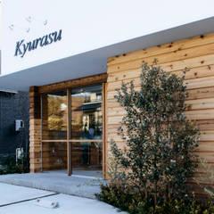 プライベートサロン「Kyurasu」: アトリエ FUDOが手掛けたオフィススペース&店です。,