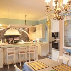 Experiments in art Nouveau style: Cozinhas  por D O M | Architecture interior