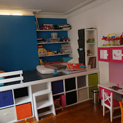 嬰兒房/兒童房 by Agence Duo Deco Paris