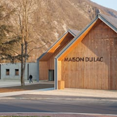 Musei in stile  di FABRIQUES ARCHITECTURES PAYSAGES