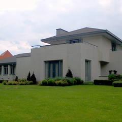 woonhuis in Achel [België]:  Huizen door PHOENIX, architectuur en stedebouw