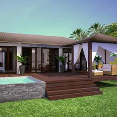 PHUKET-THAÏLANDE: Maisons de style de style Tropical par AC architecture