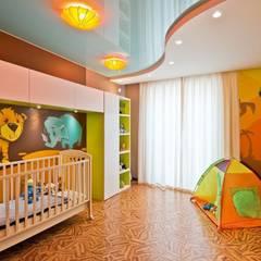 Квартира в Эко стиле: Детские комнаты в . Автор – Студия дизайна,
