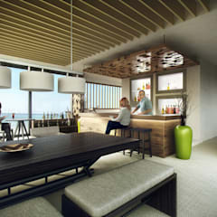 Perspective intérieure 3D: Locaux commerciaux & Magasins de style  par Vizion Studio