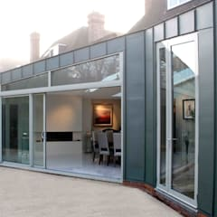 High end residential 2:  Walls by T-Space Architects