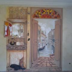 Salle à manger de style  par Абрикос
