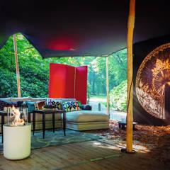 Jar Commerce, Planika : styl , w kategorii Taras zaprojektowany przez Planika Fires