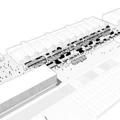 INTERFACE(S) - Projet de fin d'études: Ecoles de style  par Atelier VOUS