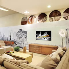 منازل تنفيذ Adriana Scartaris: Design e Interiores em São Paulo,