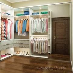Ankleidezimmer von студия Design3F,