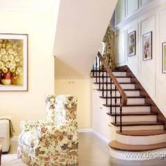 Wohnzimmer von студия Design3F,