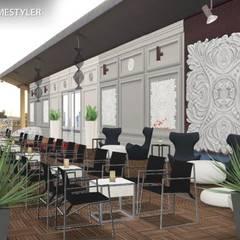 Bakara : Terrazas de estilo  de GL!LabDesign