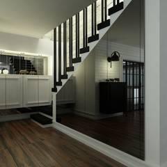Corridor, hallway by Niyazi Özçakar İç Mimarlık