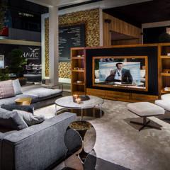 Excellent beurs Ahoy 2014 Moderne woonkamers van B&G Audio Video Solutions BV Modern