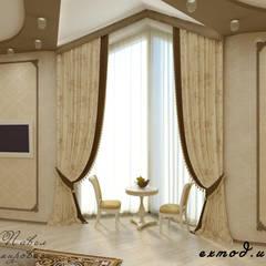 Спальня в классическом стиле: Спальни в . Автор – Цунёв_Дизайн. Студия интерьерных решений., Классический