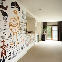 AK Design Studio – RIVA WINTER HOUSE: tropikal tarz tarz Mutfak