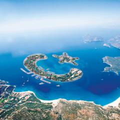 Metin Hepgüler – Ayyıldız Ada Projesi:  tarz Ofisler ve Mağazalar