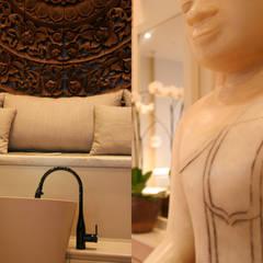 Institut Nailsparis à Paris 16ème: Espaces commerciaux de style  par Agence MOHA