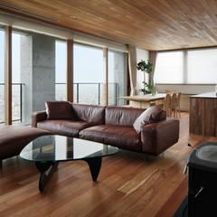 اتاق نشیمن by atelier137 ARCHITECTURAL DESIGN OFFICE
