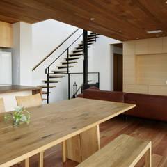 027甲府 I さんの家: atelier137 ARCHITECTURAL DESIGN OFFICEが手掛けたダイニングです。