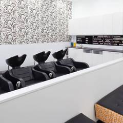 Salon Express 4 Hair Wash Basins:  Shopping Centres by Natasha Fowler Design Solutions