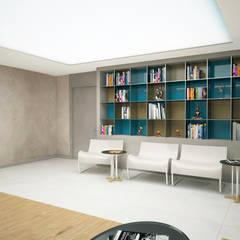 Office buildings by BWorks , Modern