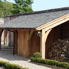 Oak Framed Lean-too:  Hotels by Architects Scotland Ltd