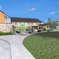 Visitors Centre / Farmshop / Restaurant :  Shopping Centres by Architects Scotland Ltd