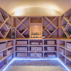 Wine cellar by Sandrine RIVIERE Photographie, Country