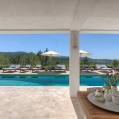 Ibiza Style: rustieke & brocante Tuin door Kabaz