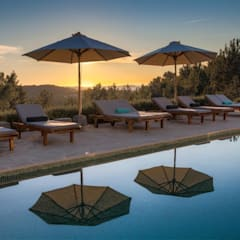 Ibiza Style:  Tuin door Kabaz