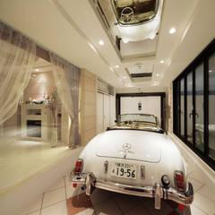 Garage/shed by 菅原浩太建築設計事務所