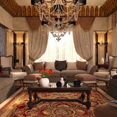 ห้องนั่งเล่น by MHD Design Group