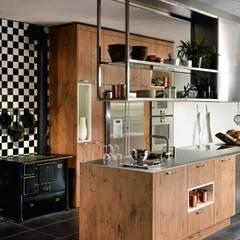 rustic Kitchen by KH System Möbel GmbH