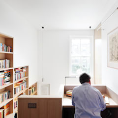 Book Tower House:  Study/office by Platform 5 Architects LLP