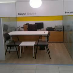 Offices & stores by Ortaköy Parke İç Dekorasyon