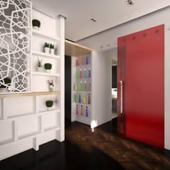 Corridor & hallway by Graziella Fittipaldi Architetto